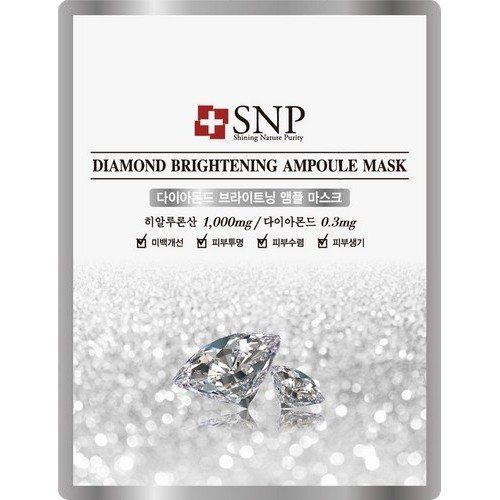 SNP Diamond brighning sheet mask