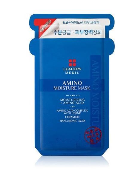 Leaders amino moisture mask, Koreansk hudpleie sheetmaske