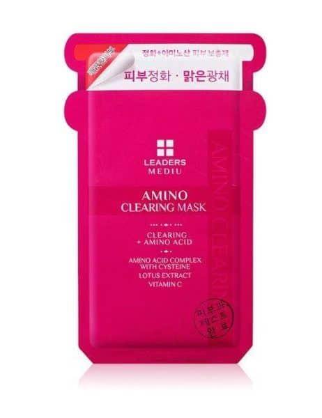 Leaders amino clearing mask